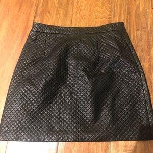 Top shop Faux leather mini skirt